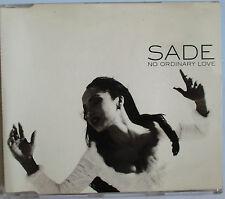 "SADE - 2 TRACKS PROMO SINGLE CD ""NO ORDINARY LOVE"""