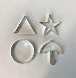 'Squid Game' Cookie cutters set of 4 - Metal  Medium