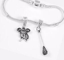 Lacrosse Bracelet huge sale Lacrosse Gift Bangle Lacrosse Present charm Jewelry