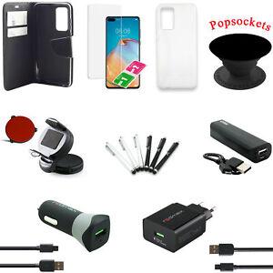 18 teiliges Huawei P40 Zubehör Set Paket Tasche Charger Halterung Powerbank