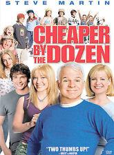 Cheaper by the Dozen, Steve Martin, Bonnie Hunt, DVD
