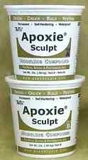 NEW Apoxie Sculpt 4 Lb. White Modeling Epoxy Clay Self Hardening Pottery Resin