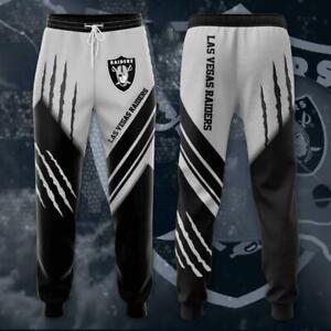 Las Vegas Raiders Mens Casual Joggging Pants Sweatpants Footbal Loose Trousers