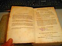 Dictionnaire Portatif De La Fable Par Chompre' - Paris 1801 - 2 Tomos En 1 Tomo