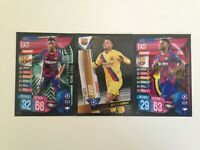 TOPPS CHAMPIONS LEAGUE 19/20 ANSU FATI ROOKIE CARDS LOT OF 3