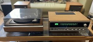 Vintage Wharfdale Linton  1970s Amplifier/Record Player and Speakers