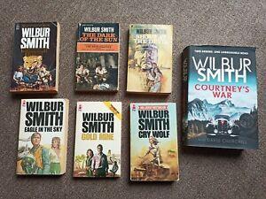 Wilbur Smith  books bundle