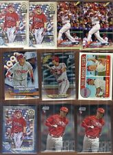 Rhys Hoskins Gypsy Queen Rookie Blue SP /250 + 9 Rc's Phillies