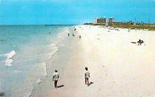 Vintage Florida Chrome Postcard Pensacola Beach Miracle Strip Walton Destin