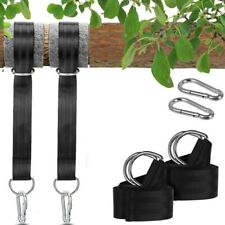 2pcs Tree Outdoor Patio 150cm Hanging Strap Hammock Swings Swing Straps 200kg