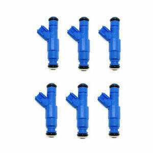6 x Bosch OE Fuel Injectors For Dodge Mitsubishi Jeep Liberty 0280158020 Upgrade