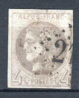 """FRANCE STAMP TIMBRE 41 Bd """" CERES BORDEAUX 4c GRIS FONCE """" OBLITERE TB VOIR P694"""