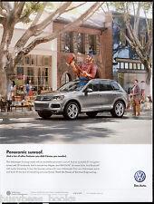 2013 VW TOUAREG advertisement, Volkswagen Touareg with Paul Bunyon