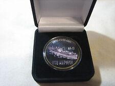 US NAVY USS AMPHION / AR-13 Challenge Coin w/ Presentation Box