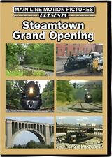Steamtown Grand Opening DVD NEW NYS&W 142 Milwaukee Road 261 CP 2317 RBM&N 425