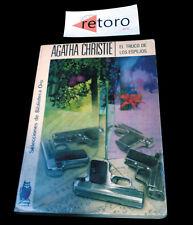BOOK LIBRO EL TRUCO DE LOS ESPEJOS Agatha Christie Biblioteca Oro 145 Ed. 1975