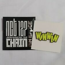 NCT 127 WayV WINWIN Chain Japan Showcase Pin Badge