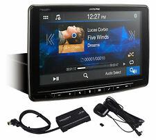 "ALPINE iLX-F259 9"" 1-Din Digital Media Bluetooth Receiver CarPlay+SiriusXM Tuner"