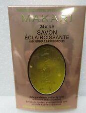 Makari 24K Gold Lightening Soap-Exfoliating Anti-Aging Bar Real Gold Particles