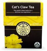 Cats Claw Tea by Buddha Teas, 18 tea bag 1 pack