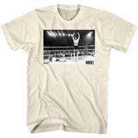 Rocky Balboa Jumping for Joy Men's T Shirt Victory Photo Yippee Boxing Champion