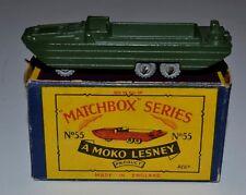 Matchbox Regular Wheels No 55a DUKW Amphibian in original box