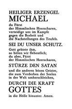 "PSALM  unbeschrieben ""H8030""  heilige Erzengel Michael"