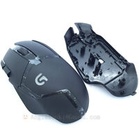 Top Shell/Cover Replacement+wheel/Roller for Logitech G402 Hyperion Fury Mouse