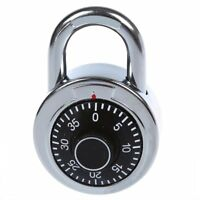 Master Code Lock 50mm With Round Fixed Dial Combination Padlock U3Y9