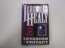 Invasion of Privacy by Jeremiah Healy (1996, Pocket Books, HC)! FIRST/FIRST!