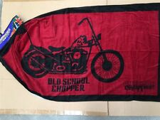 ~ American Chopper - MOTOR CYCLE BIKE BATH BEACH SWIM TOWEL Harley Chopper *Last