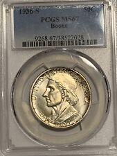 BOONE 1936-S 50C Silver Commemorative PCGS MS67