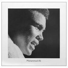 Muhammad Ali face FINE ART PRINT. Sport la légende de la boxe 40 cm x 40 cm