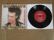 """NICK CAVE & THE BAD SEEDS In The Ghetto 7"""" RARE BIRTHDAY PARTY ELVIS PRESLEY"""