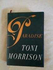 PARADISE HC/DJ , First Printing , 1998 , Toni Morrison + 1998 interview