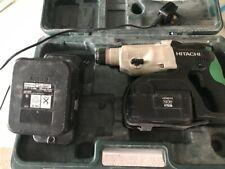 Hitachi DH24DVC SDS Plus Hammer Drill 2 batteries