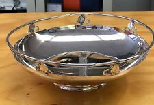 Rare Frank Smith Sterling Silver WoodLily Gallery Bowl No monos