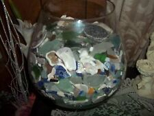 beach glass lake Erie Ohio 60 pieces for jewelry, crafts shells/pottery to