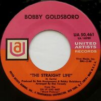 "BOBBY GOLDSBORO The Straight Life / Tomorrow Is Forgotten 7"" 45rpm 1968"