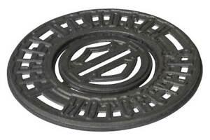 Harley-Davidson Bar & Shield Logo Durable Cast Iron Trivet w/ Removable Coaster