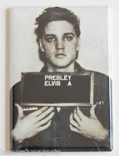 Elvis Presley Mug Shot FRIDGE MAGNET (2 x 3 inches)