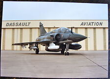 PHOTO AVION MIRAGE 2000, AVEC RESERVOIR EN AILE ET PENDULAIRE, A530 LASER, POD