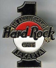 "Hard Rock Cafe JAKARTA 1993 1st Anniversary PIN Flag HRC Logo with Large ""1"""