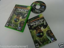 Splinter Cell Chaos Complete Original XBOX 1 Video Game System DISK FLAWLESS