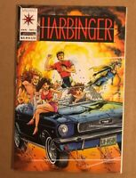 Harbinger # 1 - 1st appearance NM Cond. Coupon intact In Mylar