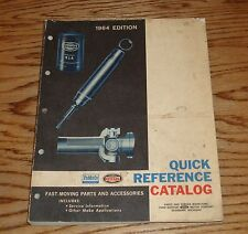 Original 1964 Ford FoMoCo Car Truck Quick Reference Catalog 64