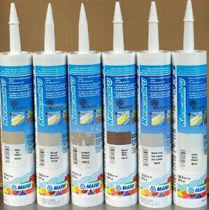 Mapei Keracaulk U Unsanded Siliconized Acrylic Caulk -Various Colors - Choice