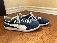 Puma Liga Blue Suede Sneakers 341466 Trainers Men Size 13