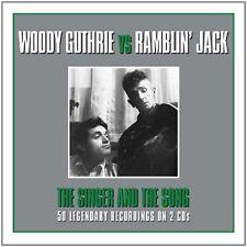 RAMBLIN' JACK ELLIOTT/WOODY GUTHRIE - SINGER & THE SONG NEW CD