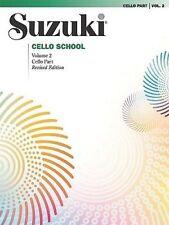 Suzuki Cello School Music Book Volume 2 Revised Edition Brand New On Sale!